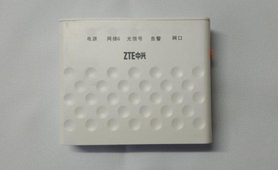 ZTE F601 GPON ONU